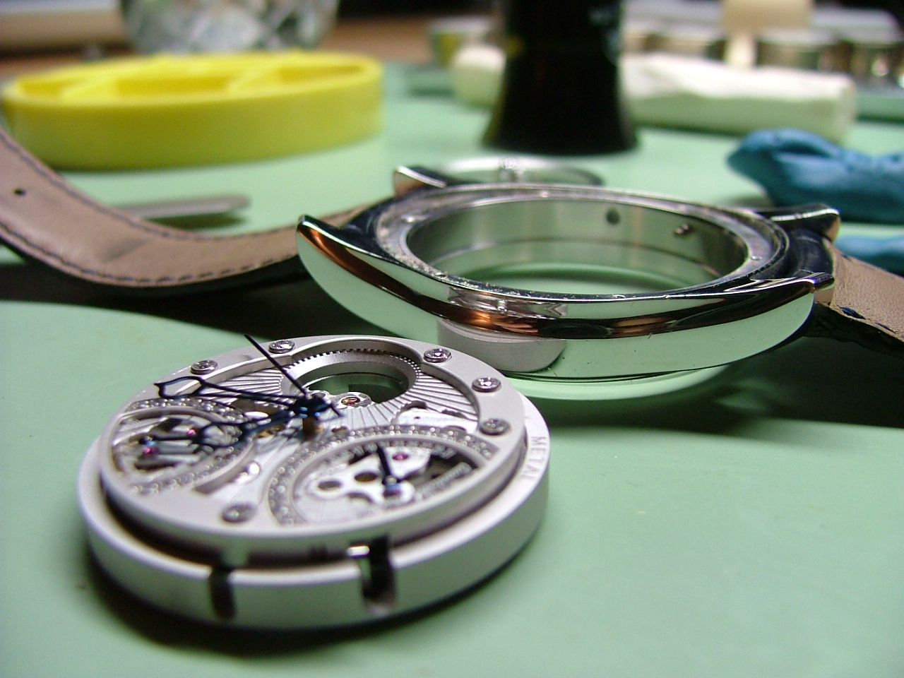 retrograde perpetual calendar watch repair