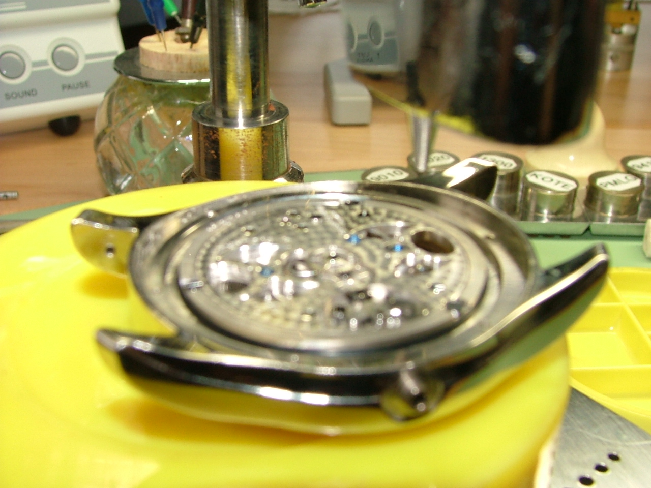 Leviev Tourbillon being removed by Dan Spitz 2