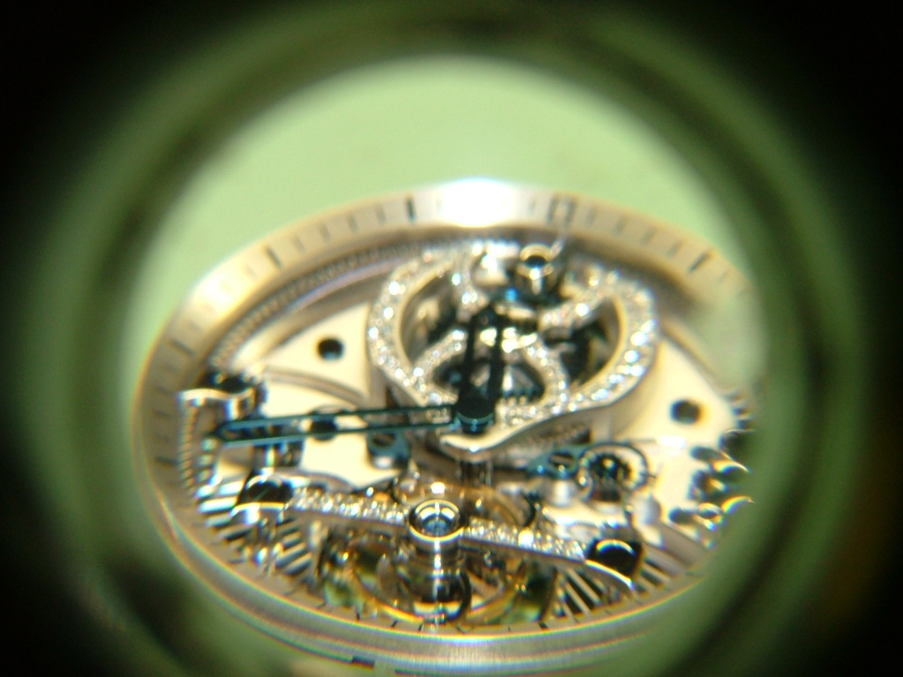 Dial side of a Christophe Claret Tourbillon by Dan Spitz